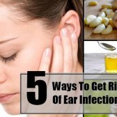 5 façons de se débarrasser de l'infection de l'oreille