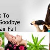 5 façons de dire au revoir à la chute des cheveux