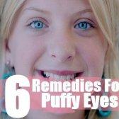 Simples remèdes maison pour les yeux gonflés