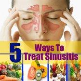 5 façons de traiter la sinusite avec des vitamines