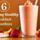 6 étonnants petit déjeuner smoothies santé