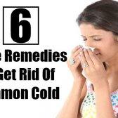 6 meilleurs remèdes maison pour se débarrasser de rhume