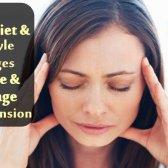 6 Diet et 5 changements de style de vie pour guérir et à gérer l'hypertension