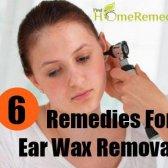 6 remèdes maison efficaces pour l'élimination de la cire d'oreille