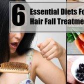 6 régimes essentiel pour le traitement de la chute des cheveux