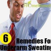 6 Les remèdes maison pour la transpiration excessive des aisselles