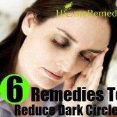 6 Accueil recours pour réduire les cernes