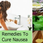 6 remèdes pour soigner les nausées avec des ingrédients naturels