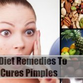 6 remèdes régime simple pour guérir les boutons