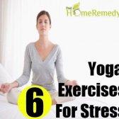 6 magnifiques exercices de yoga pour le stress