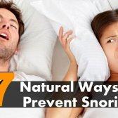 7 meilleurs moyens naturels pour prévenir le ronflement