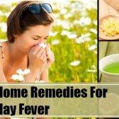 7 remèdes efficaces à domicile pour le rhume des foins
