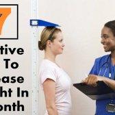 7 conseils efficaces pour augmenter la taille en un mois