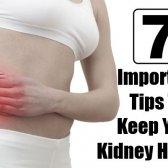 7 Conseils importants pour garder votre rein sain