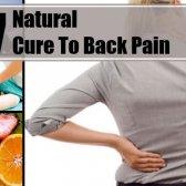 7 remède naturel pour les maux de dos