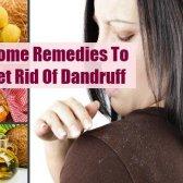 7 Simplest remèdes maison pour se débarrasser des pellicules