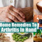 Top 7 des remèdes maison pour traiter l'arthrite dans la main