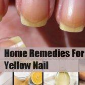 7 remèdes maison merveilleux pour ongles jaunes
