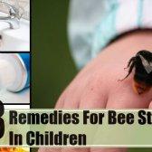 8 remèdes efficaces à domicile pour les piqûres d'abeilles chez les enfants