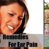 8 Accueil recours pour la douleur d'oreille
