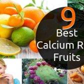9 meilleurs fruits riches en calcium