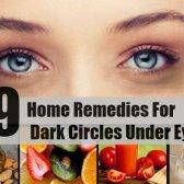 9 remèdes efficaces à domicile pour les cernes sous les yeux