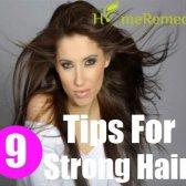 9 Cheveux conseils de soins pour les cheveux longs et forts