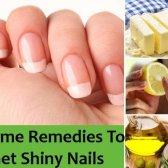 9 Accueil recours pour obtenir des ongles brillants - se concentrent davantage sur les protéines et la vitamine e régime riche