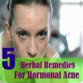 5 meilleurs remèdes pour l'acné hormonale