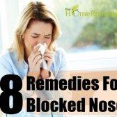 Remèdes efficaces à domicile pour le nez bouché