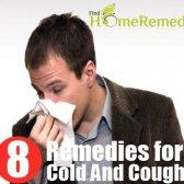 Débarrassez-vous de rhume et la toux avec ces remèdes efficaces à domicile!