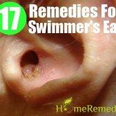 Remèdes maison utiles pour traiter l'oreille du nageur