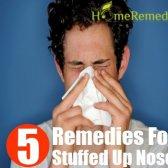 Accueil recours pour congestion nasale