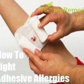 Comment lutter contre les allergies adhésives