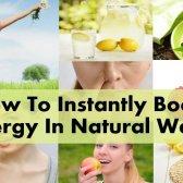 Comment stimuler instantanément l'énergie de façon naturelle