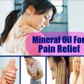 L'huile minérale pour soulager la douleur