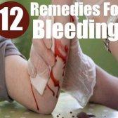 Les 12 remèdes maison rapides et efficaces pour saignement