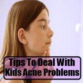 Conseils pour faire face aux problèmes des enfants de l'acné