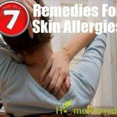 Conseils pour se débarrasser des allergies de la peau avec des remèdes maison
