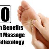Top 10 des avantages pour la santé de massage des pieds et réflexologie