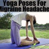 Postures de yoga pour les migraines