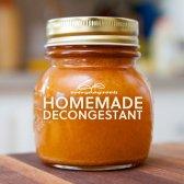 Homemade naturelle décongestionnant de cidre épicé et expectorant