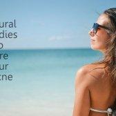 Comment se débarrasser de l'acné dos utilisant des remèdes maison