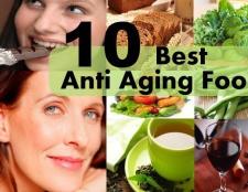 10 meilleurs aliments anti vieillissement