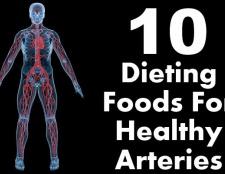 10 aliments Régime amaigrissant pour la santé des artères