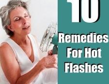 10 remèdes efficaces à domicile pour les bouffées de chaleur