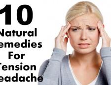 10 remèdes naturels efficaces pour les céphalées de tension