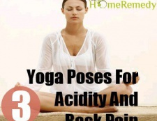 3 Postures de yoga pour l'acidité et les maux de dos