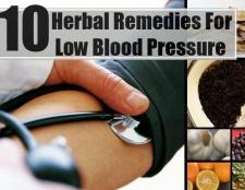 10 remèdes à base de plantes pour une pression artérielle basse