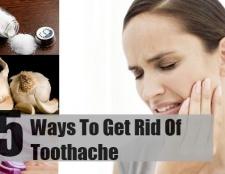 5 façons de se débarrasser des maux de dents